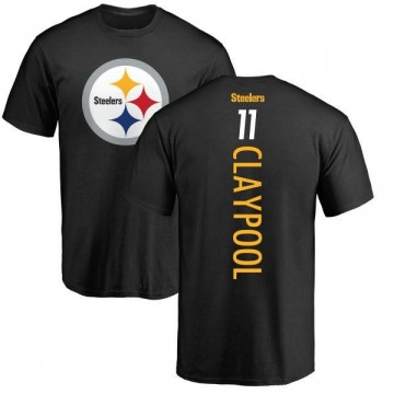 Men's Chase Claypool Pittsburgh Steelers Backer T-Shirt - Black
