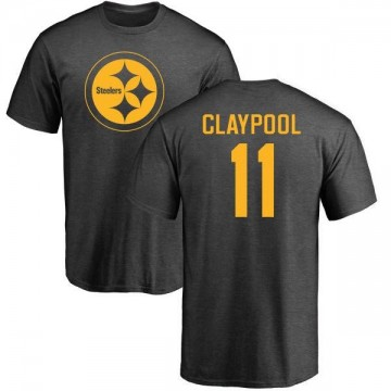 Men's Chase Claypool Pittsburgh Steelers One Color T-Shirt - Ash