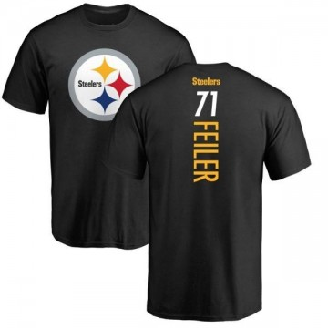 Men's Matt Feiler Pittsburgh Steelers Backer T-Shirt - Black