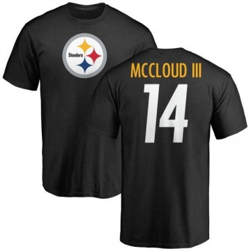 Youth Ray-Ray McCloud III Pittsburgh Steelers Name & Number Logo T-Shirt - Black