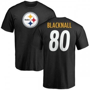 Youth Saeed Blacknall Pittsburgh Steelers Name & Number Logo T-Shirt - Black